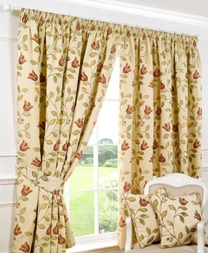 "Best of Downtown Ready Made Curtains Fully Lined Terracotta 66"" x 72"" 168cm Lovely - Cool ready made curtains Model"
