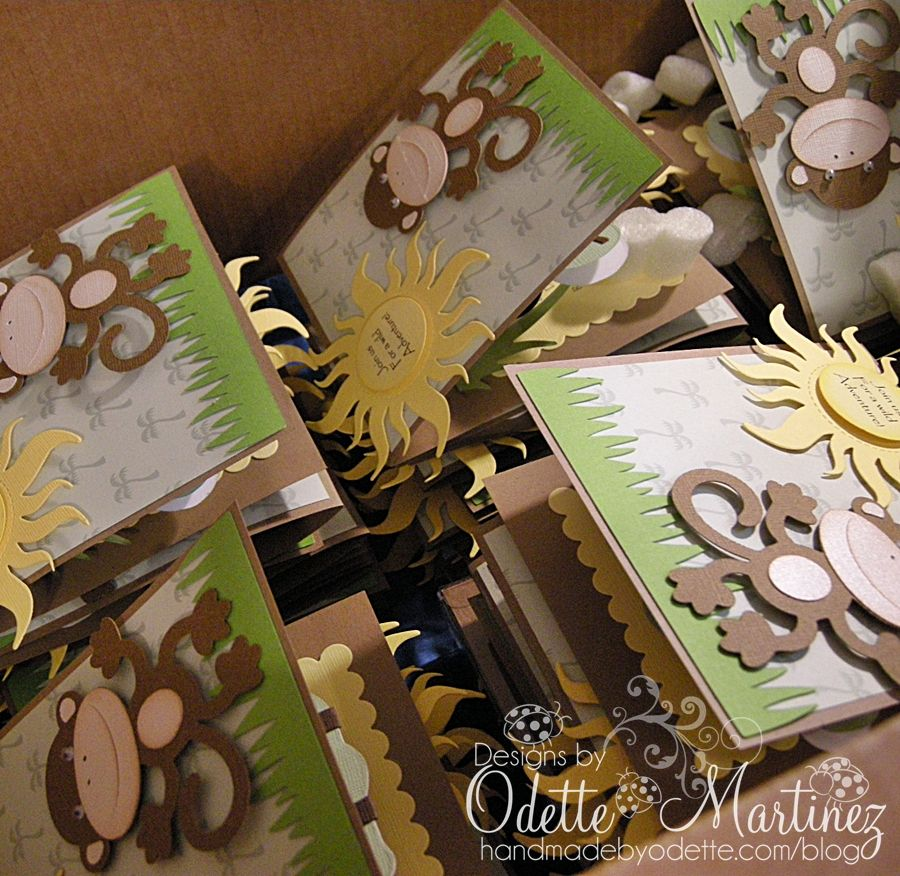 Dscn8034 Close To My Heart Pinterest Safari Party Baby Cards