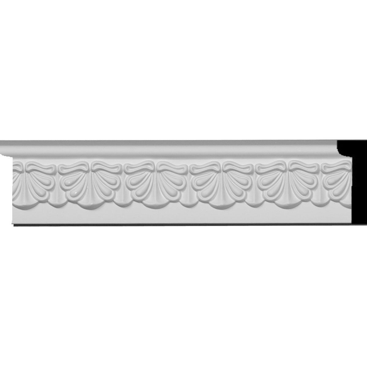 Ekena Millwork Legacy 5 5 In X 8 Ft Primed Polyurethane Connector Wall Panel Moulding Pml04x00le Wall Panel Molding Panel Moulding Wall Paneling