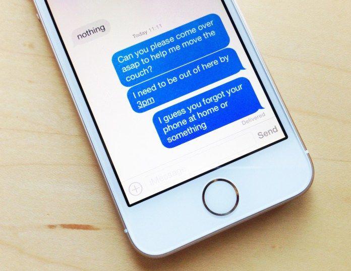 Como cancelar un envío de Mensaje en iPhone -