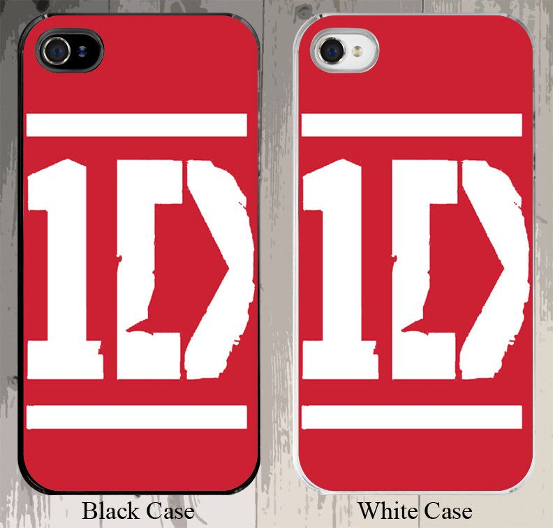 1D 1 Direction RED Background white text Band 1 direction