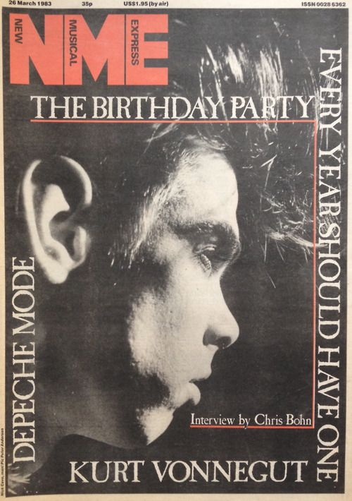 Nick Cave of The Birthday Party