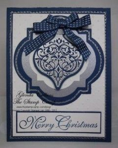 Faux Stitching by Glenda Calkins - Cards and Paper Crafts at Splitcoaststampers