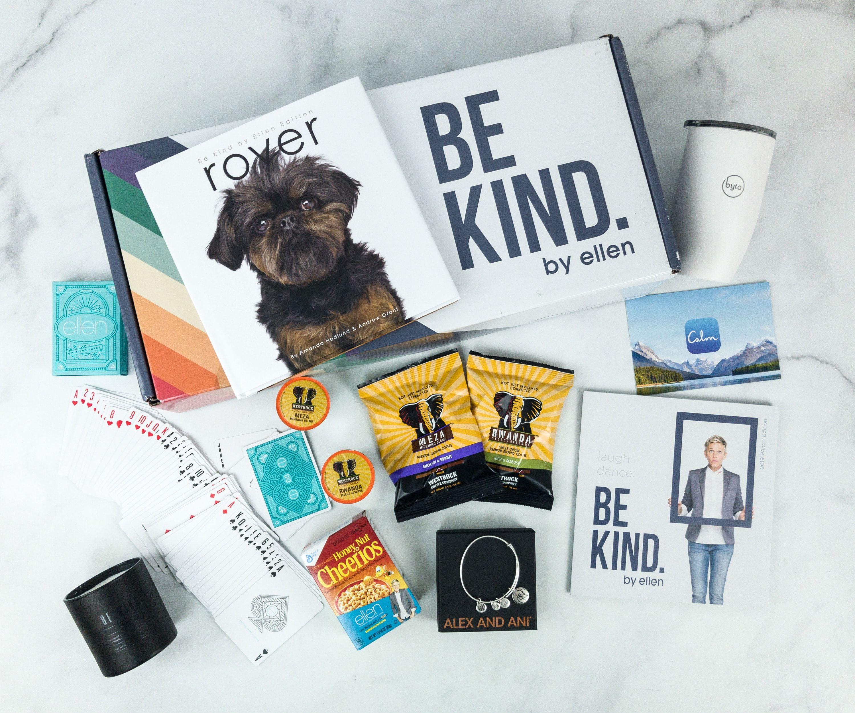 Be Kind By Ellen Subscription Boxes Pet Subscription Box Gift Subscription Boxes