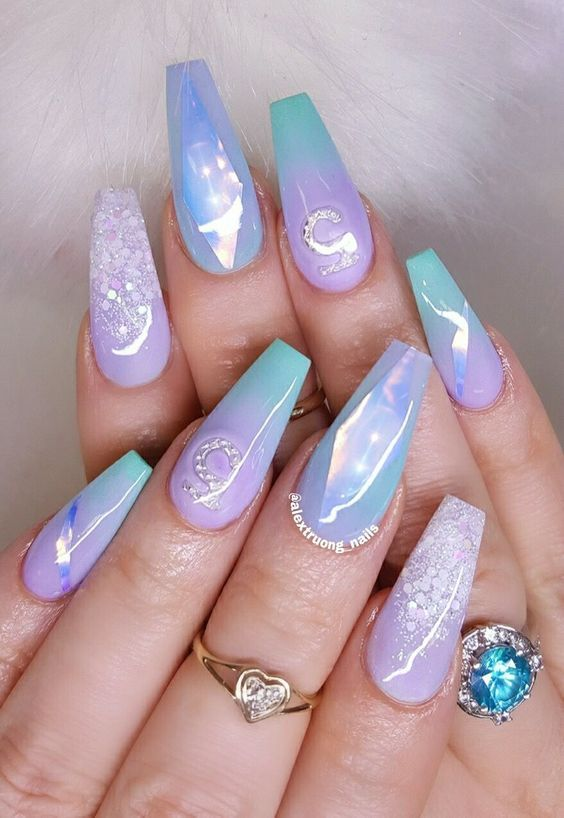 44 coffin acrylic summer nail designs 2018 acrylic nail designs . - Acrylic Nails Designs 2018 - Opucuk.kiessling.co