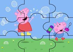 JuegosdePeppacom  Juego Rompecabezas Burbujas Peppa Pig Puzzles