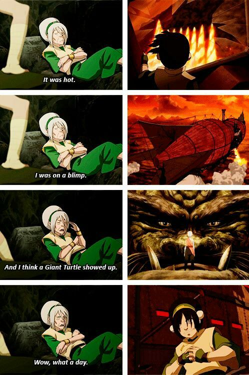 Toph :) #avatarthelastairbender