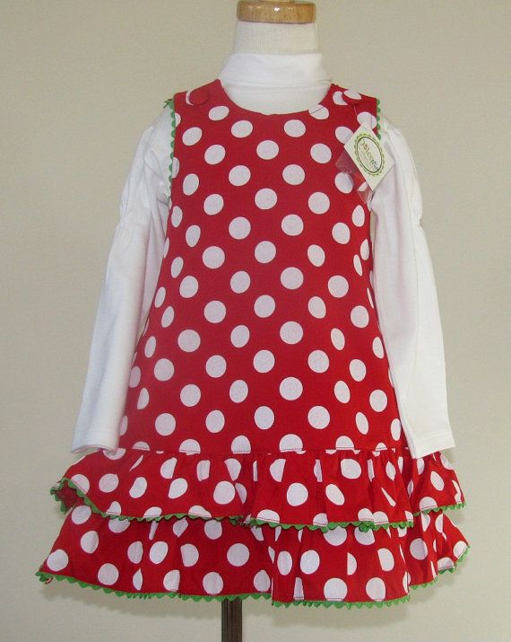 04a98b1315f9 SALE Holiday dresses for girls toddler Red by handsmocked on Etsy ...