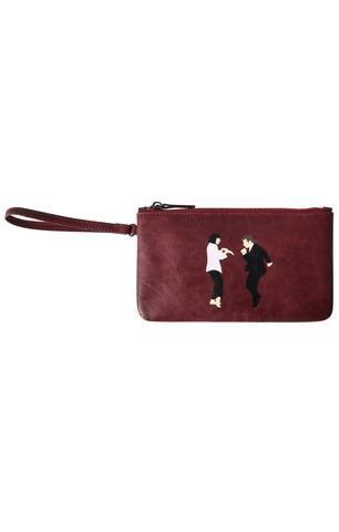 0744edf9e3f Set  Pulp Fiction Leather Crossbody Bag + Wristlet - BKBT Concept ...
