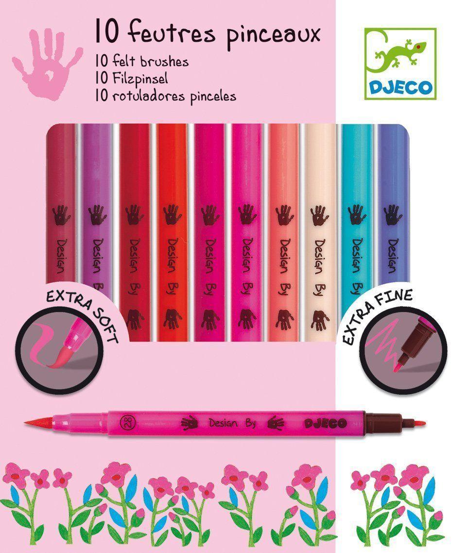 Classic Colors Papo 10 Felt Brushes