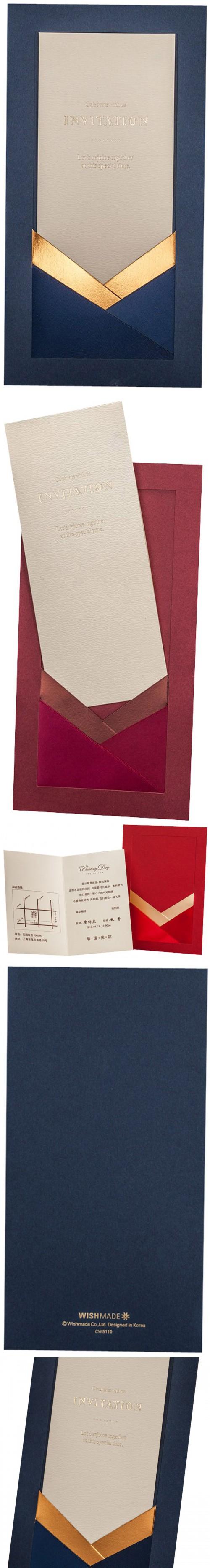 Navy Blue Wedding Invitations Luxury Wedding Invitation Card ...