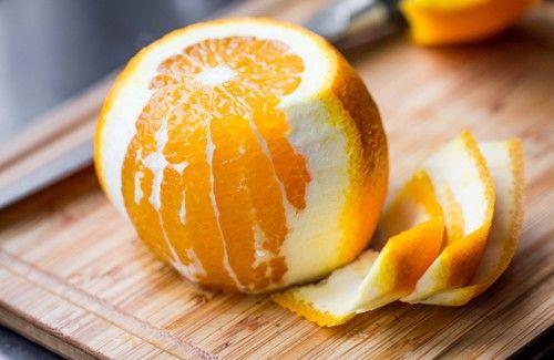 Les grands bénéfices de l'écorce d'orange