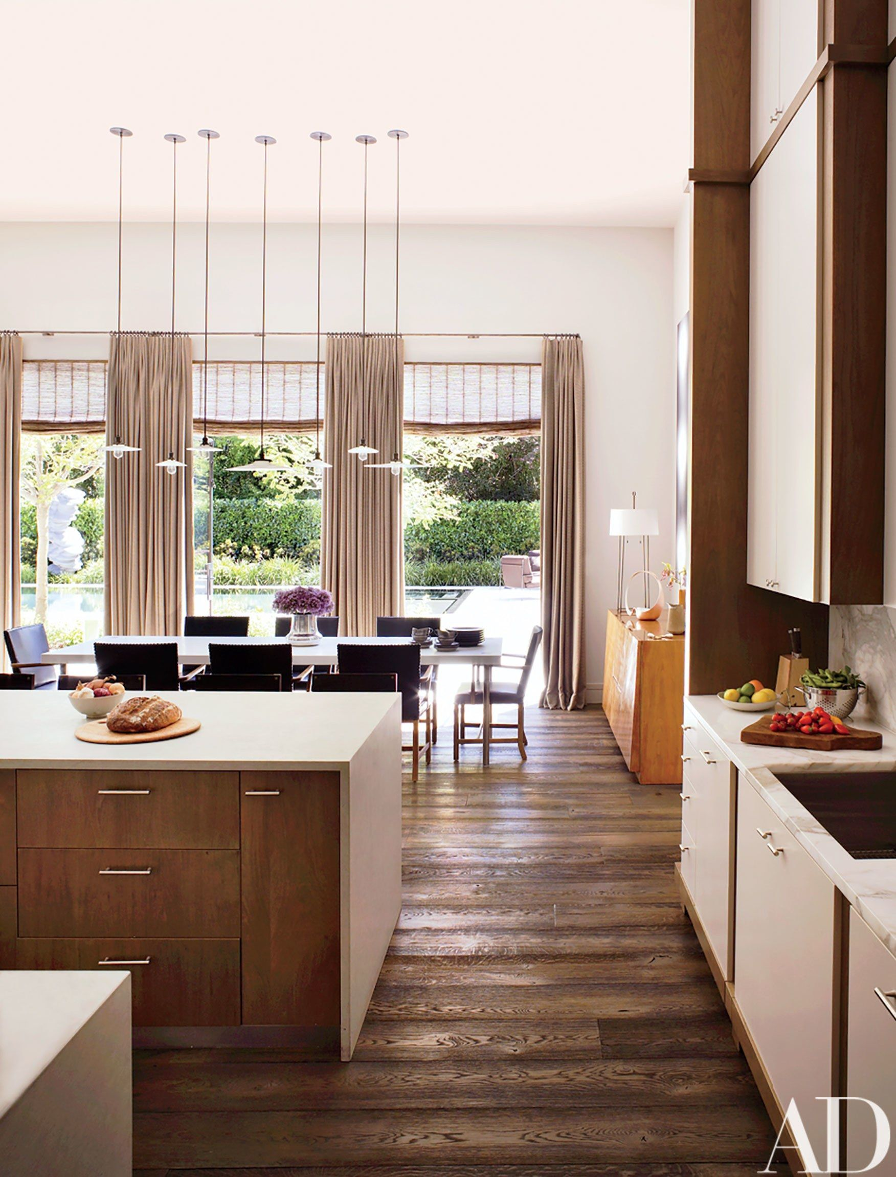 Modern Kitchen Images Architectural Digest An Avantgarde California Residence Becomes An Artfilled Retreat