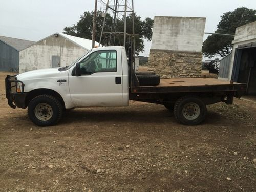 Ford F 350 Single Cab 4x4 Flatbed Truck For Sale For More