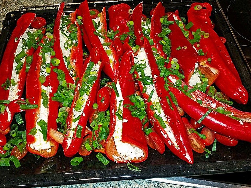 Gefüllte Spitzpaprika von TinaH2014 | Chefkoch