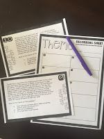 Differentiated Theme Task Cards