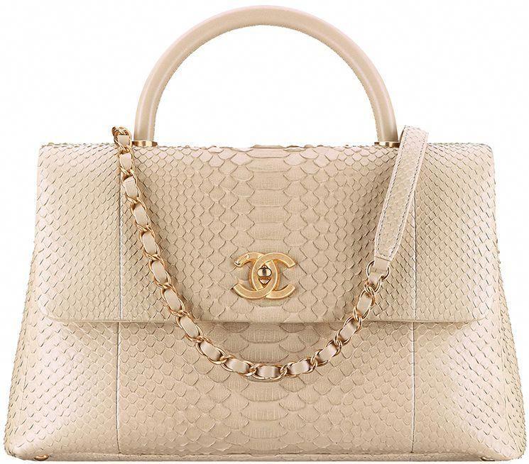 98a8782e861c58 Chanel Mini Python Coco Handle Bag Style code: A92990 Size: 5.5 x 9.4 x 3.9  inches Price: $5100 USD, €4950 euro, £4590 GBP, $8320 SGD, $43100 HKD,  $AUD, ...