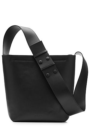 Simple+and+sleek+in+smooth+black+leather,+Marni's+crossbody+bag+is+an+easy-chic+choice+for+every+day+#Stylebop