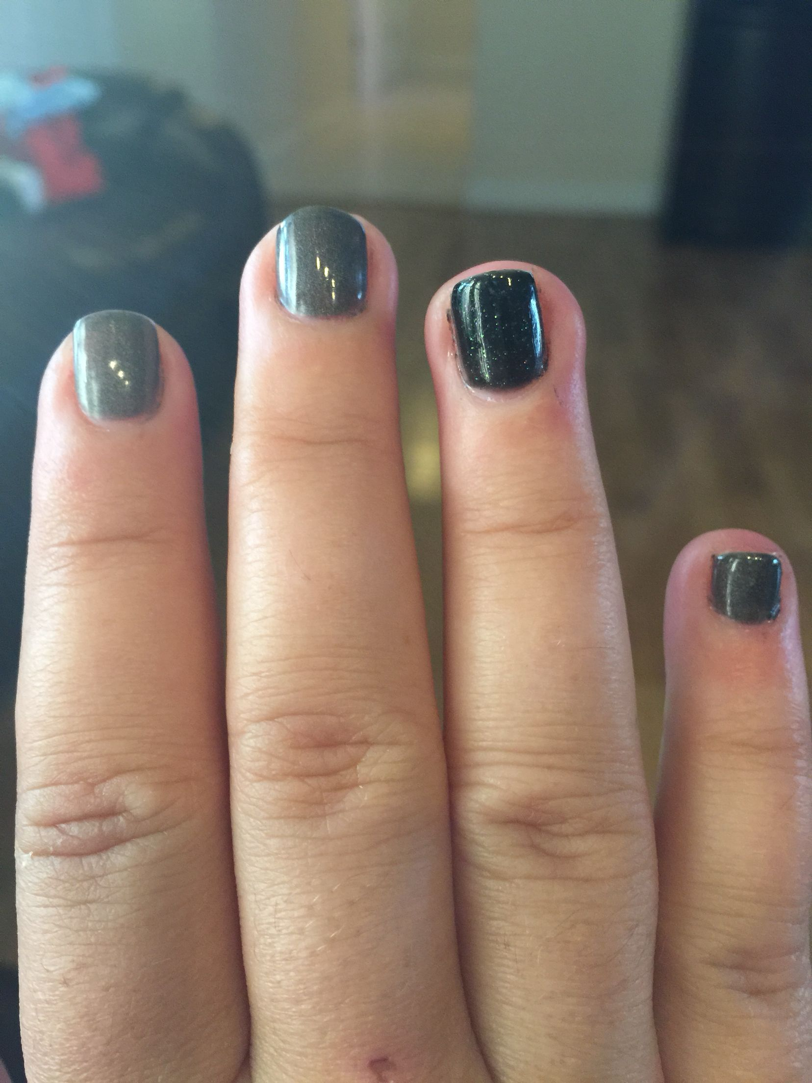 Gel nails for New Years Eve (With images) New year's