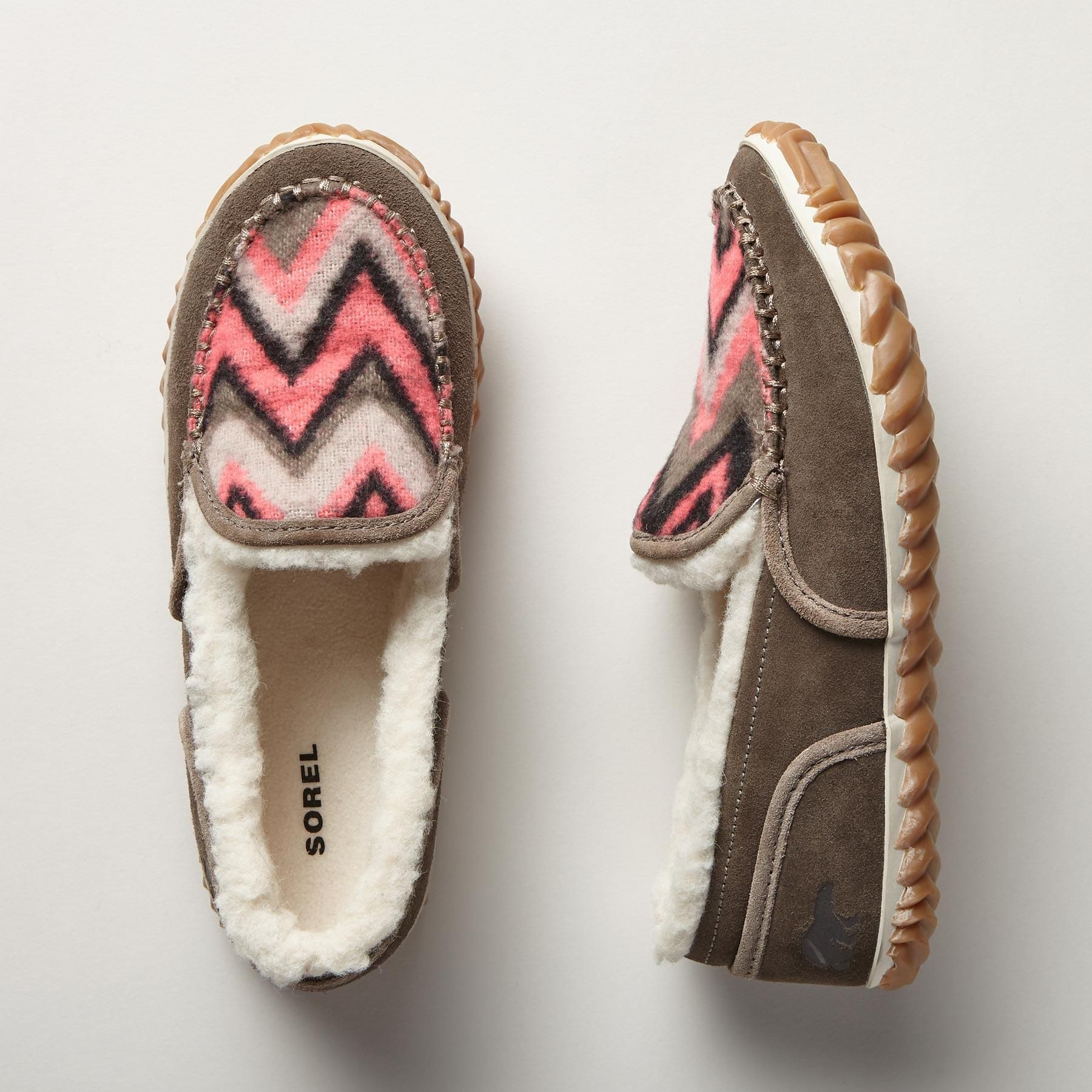 TREMBLANT MOCCASINS -- Sorel® does the best indoor-outdoor moccasin ever,  with
