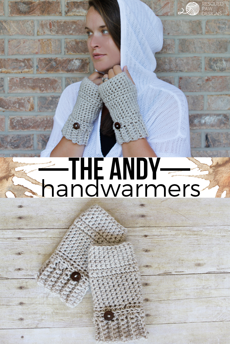 Simple Crochet Hand Warmer Pattern | Pinterest | Stulpen, Hände und ...