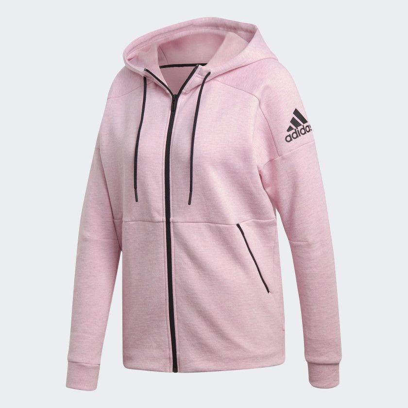 Photo of adidas ID Stadium Hoodie – Pink   adidas US