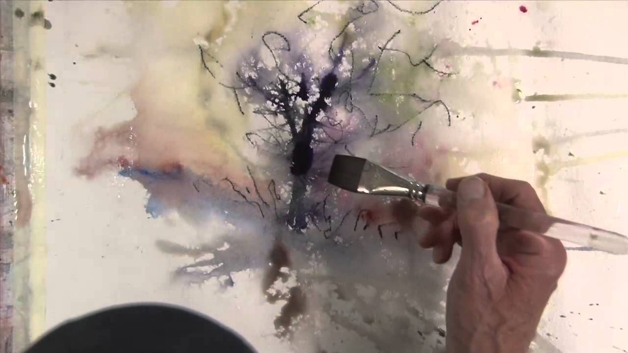 Experimental Landscapes In Watercolour Abstract Watercolor
