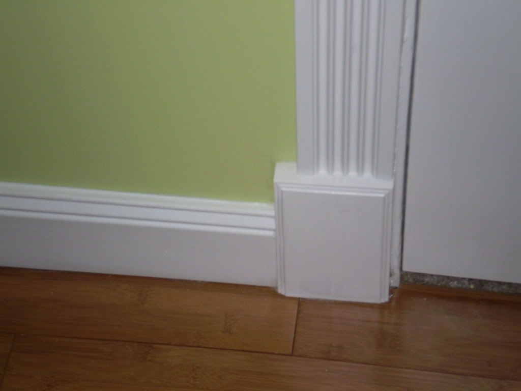 Depiction of the baseboard styles that maintain the visual Modern floor molding