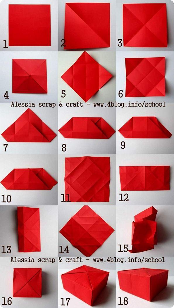 Gift box scatoline regalo fatte ad origami origami for Oggetti da regalo