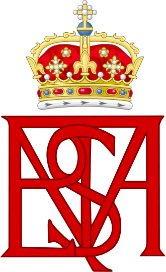 Royal Monogram Of Mary Queen Of Scots Variant Royal Monograms