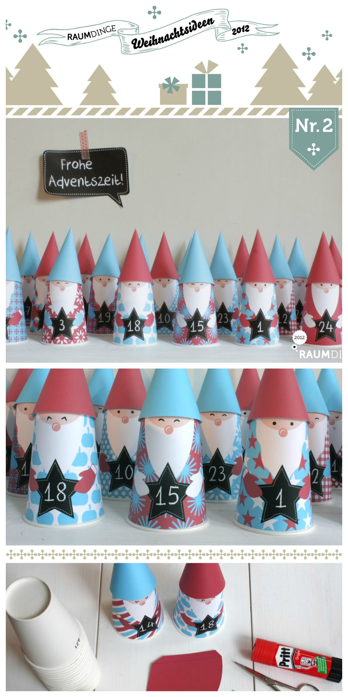 Wichtel Ideen Diy 22 Adventskalender Diy Idea Christmas Calendars Advent