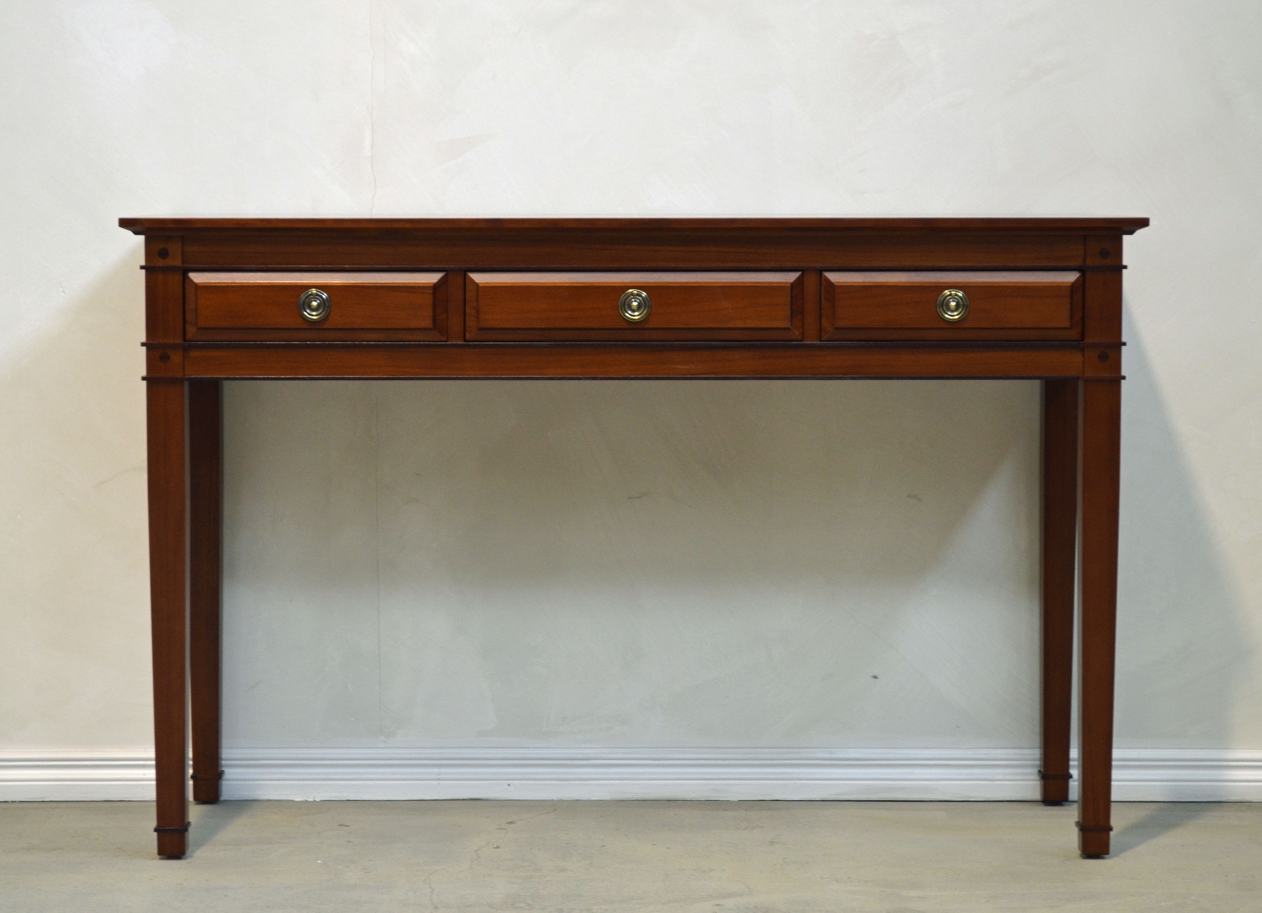 Beautiful Hall Table Credenza In NZ Kauri By Rose U0026 Heather Furniture Makers