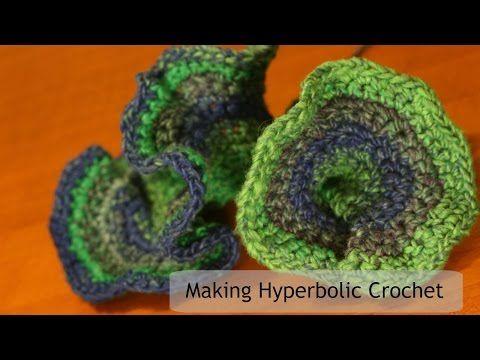 Making Hyperbolic Crochet - YouTube