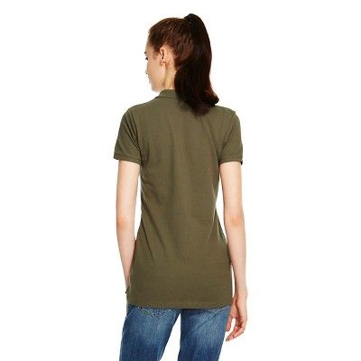 Polo Shirt Olive (Green) XL - Mossimo Supply Co., Women's