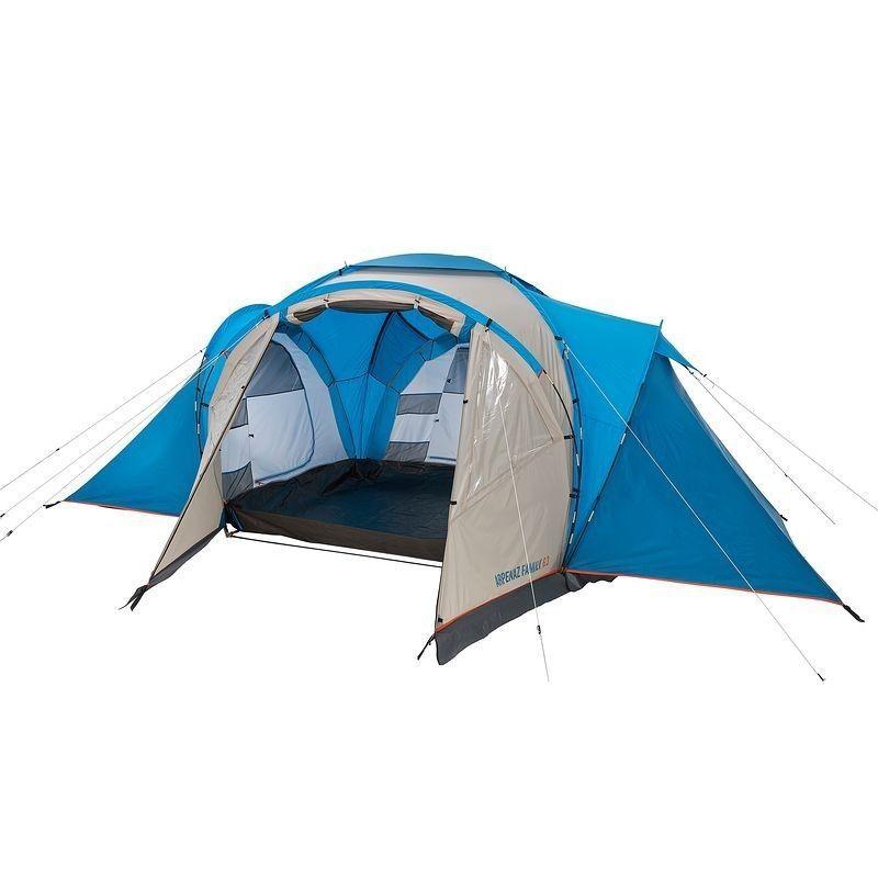 Tente Familiale T6 3 6 Personnes 3 Chambres Tente Familiale Familial Camping