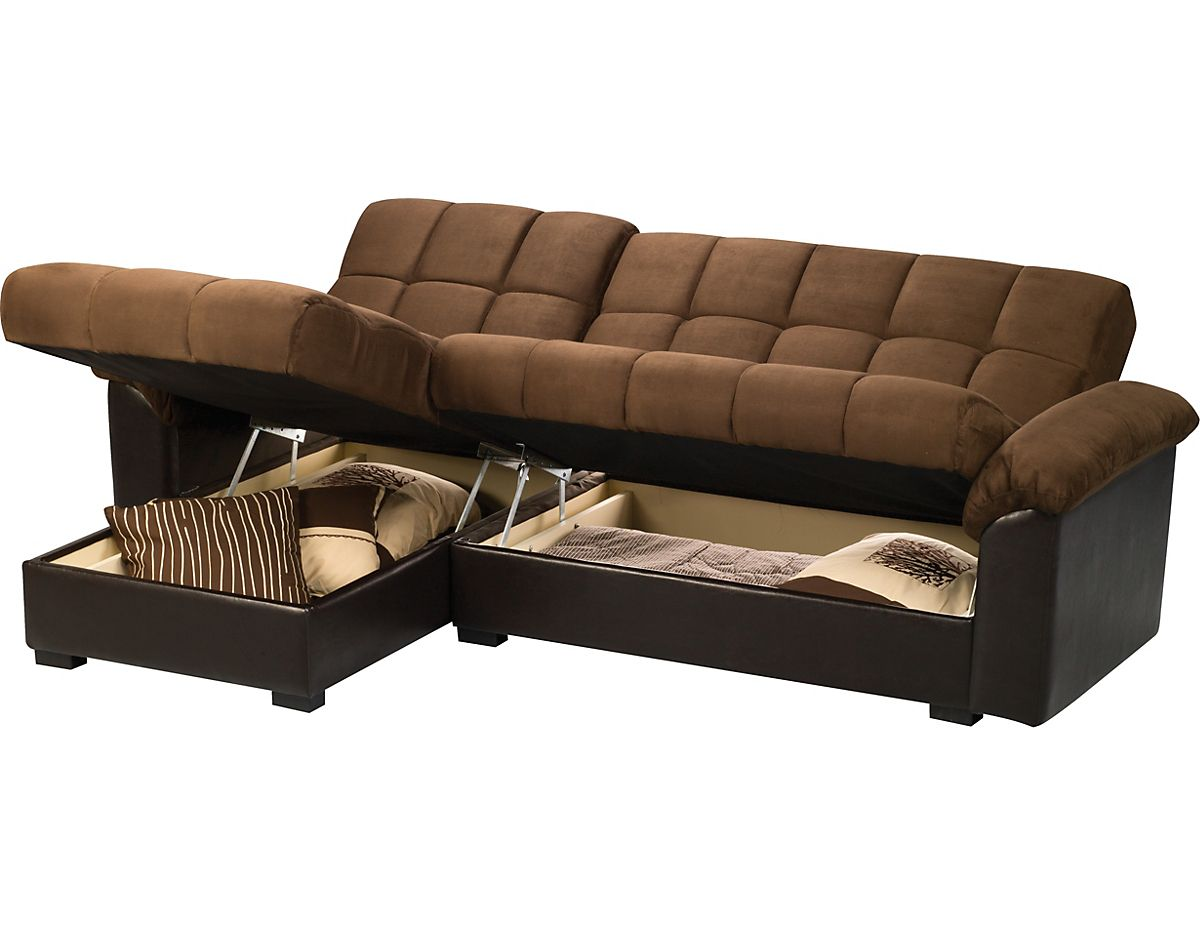 Billie 2 piece sofabed chaise sofa bed brick store