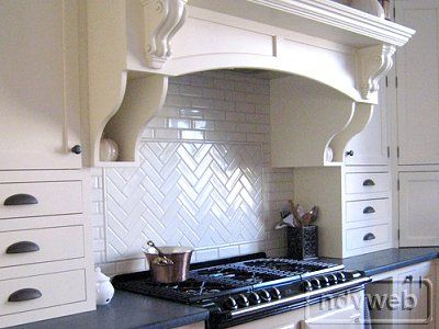 Herringbone back splash tile - Herringbone Back Splash Tile Kitchens Pinterest Kaapit Ja Kuviot