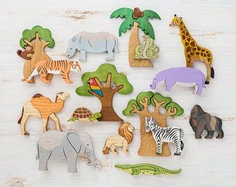 Photo of Juego de juguetes Arctic Animals (11pcs) Zorro polar del oso ártico