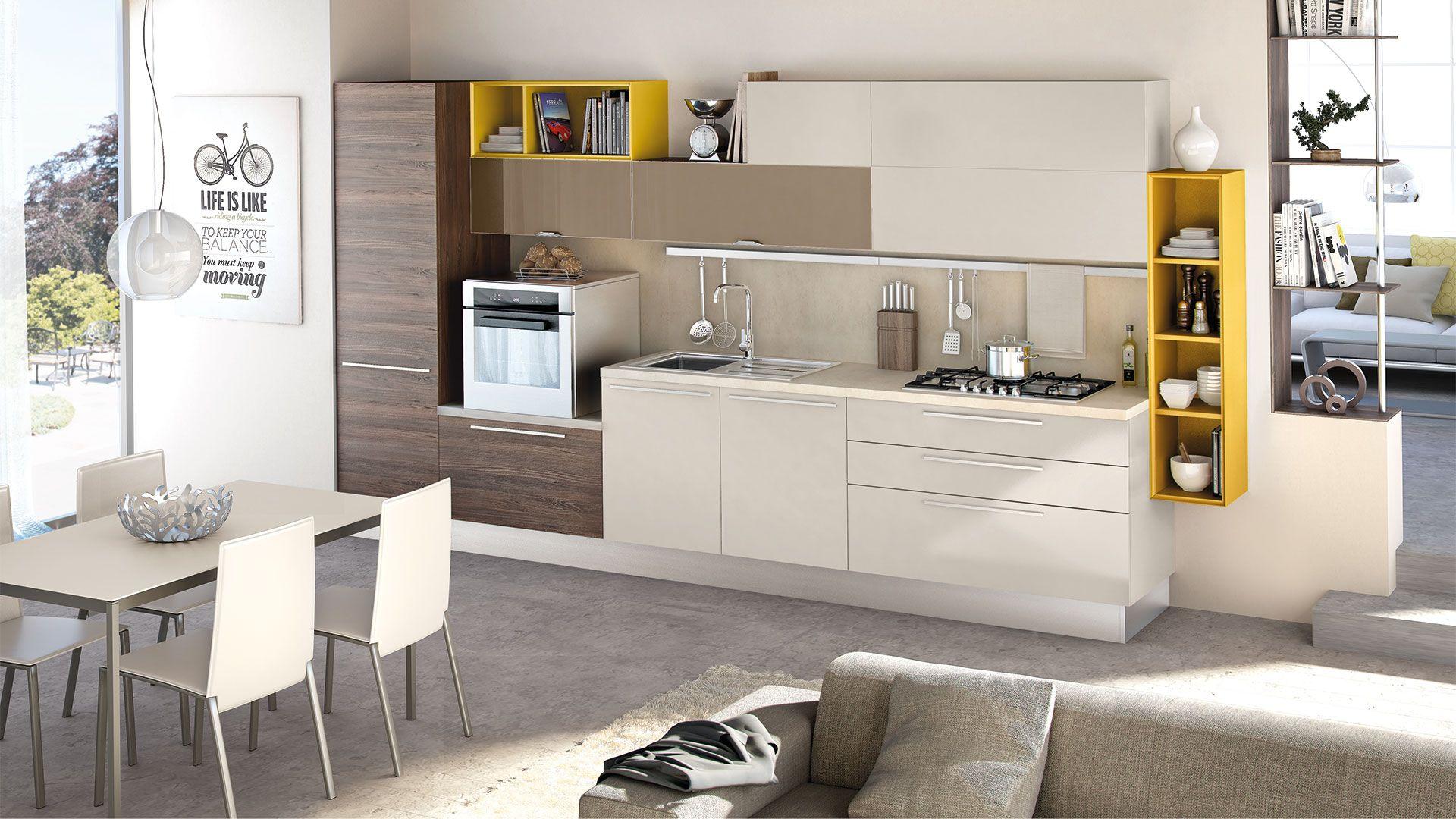 Noemi - Современные кухни - Cucine Lube   Кухня   Pinterest   Modern ...