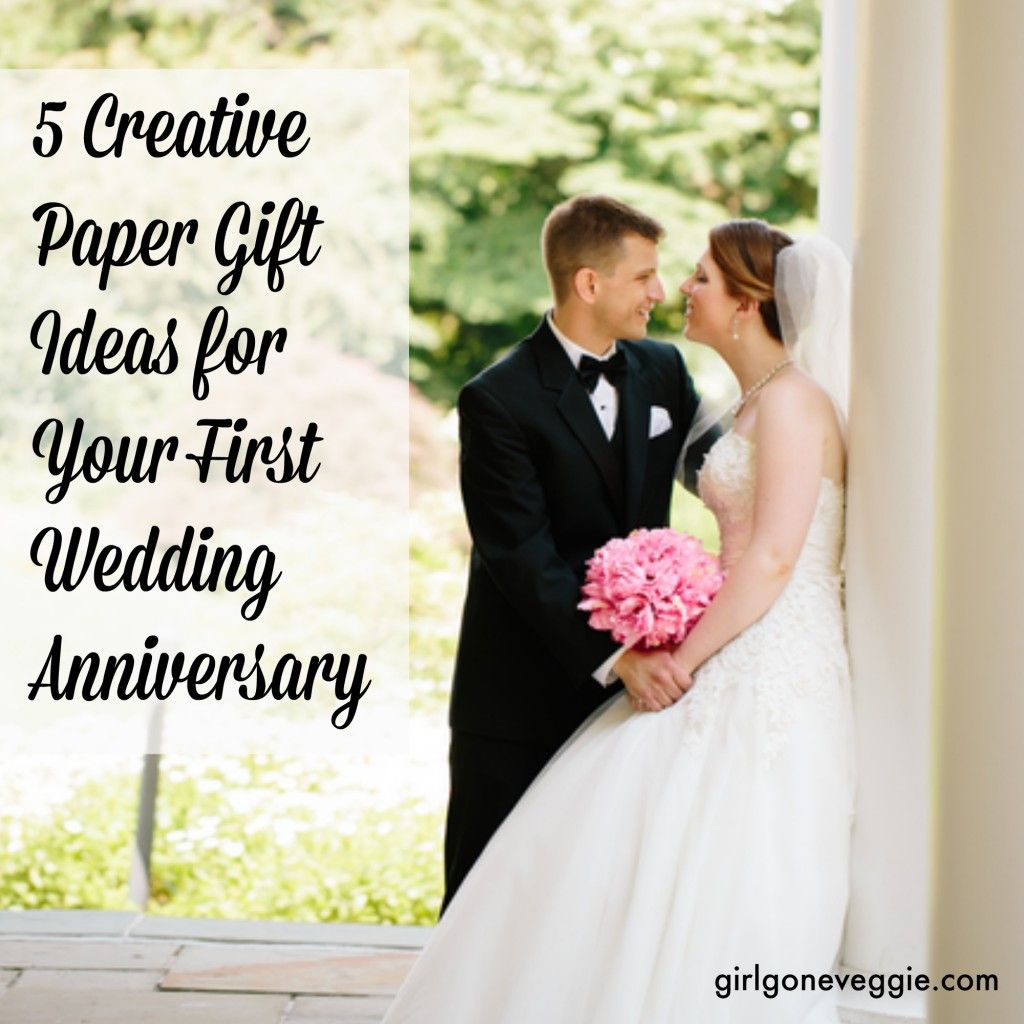 5 Creative Paper Gift Ideas For Your First Wedding Anniversary