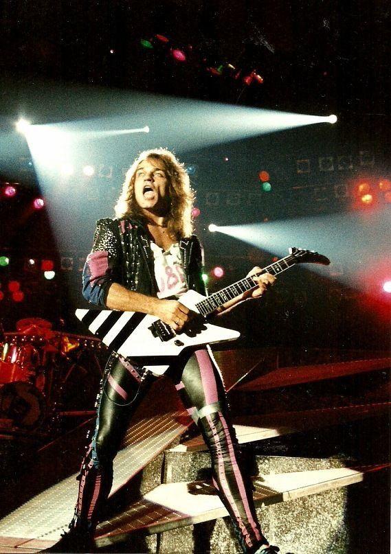 Matthias Jabs Scorpions Scorpion Rock Bands Guitar T Scorpions