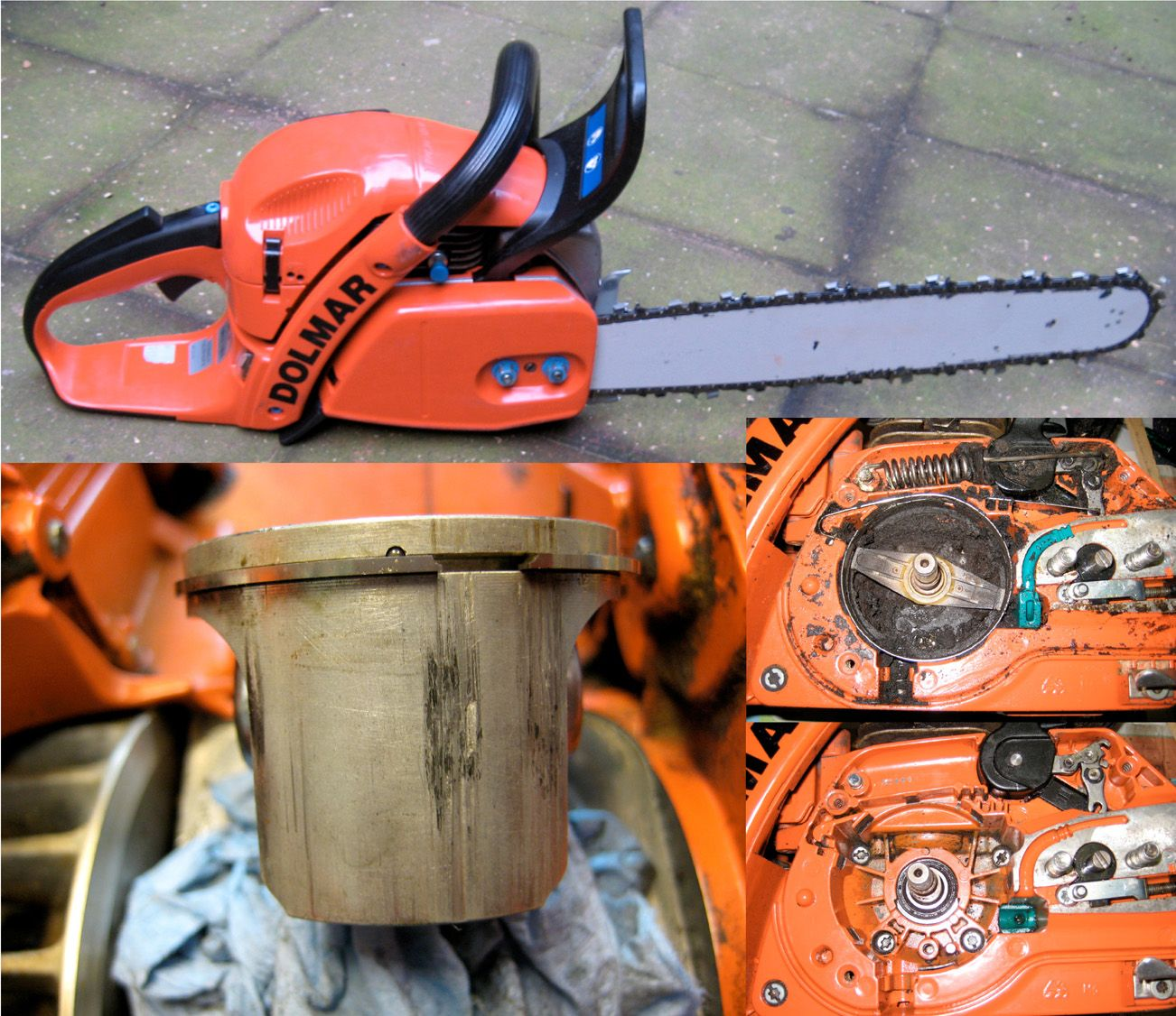 Dolmar PS-5000HD chainsaw / Origin: bought online (for cheap