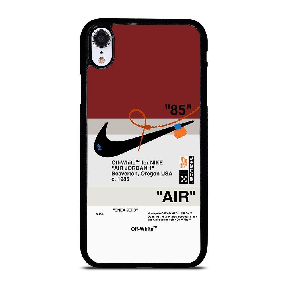 Off white nike air jordan iphone xr case di 2020