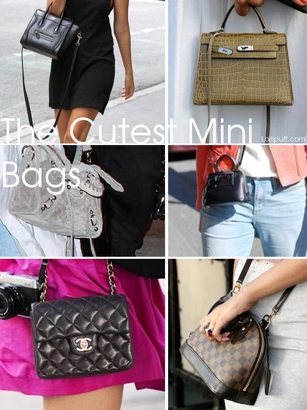 facbec596642 Mini and micro bags are all the rage right now. And