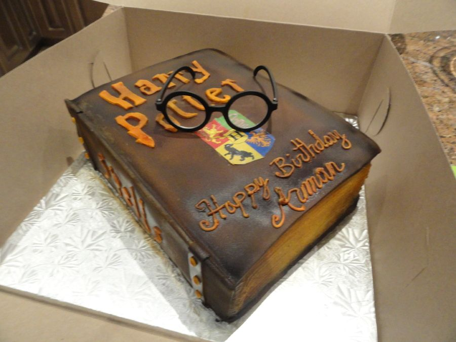 Harry Potter Birthday Cake on Cake Central Harry Potter Cakes