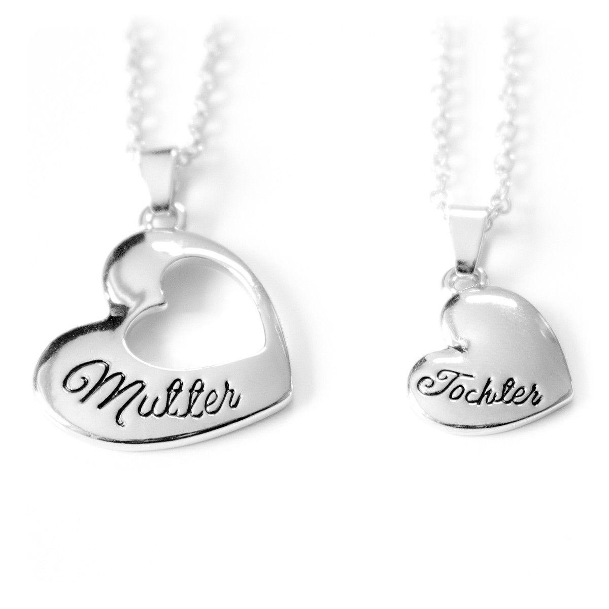 Halskette Damen-Schmuck Muttertag Liebe Mama Familie Mutter Geschenk Weihnachten