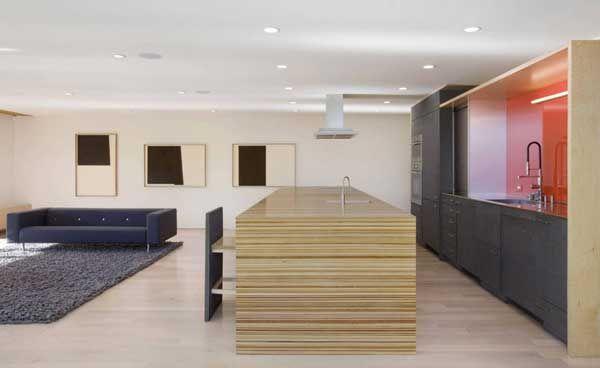 design studio Minarc kitchen Pinterest Single family, Flats - küche weiß braun