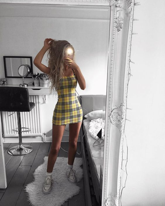 Outfits con cuadros que no te harán ver anticuada ni boba – resim