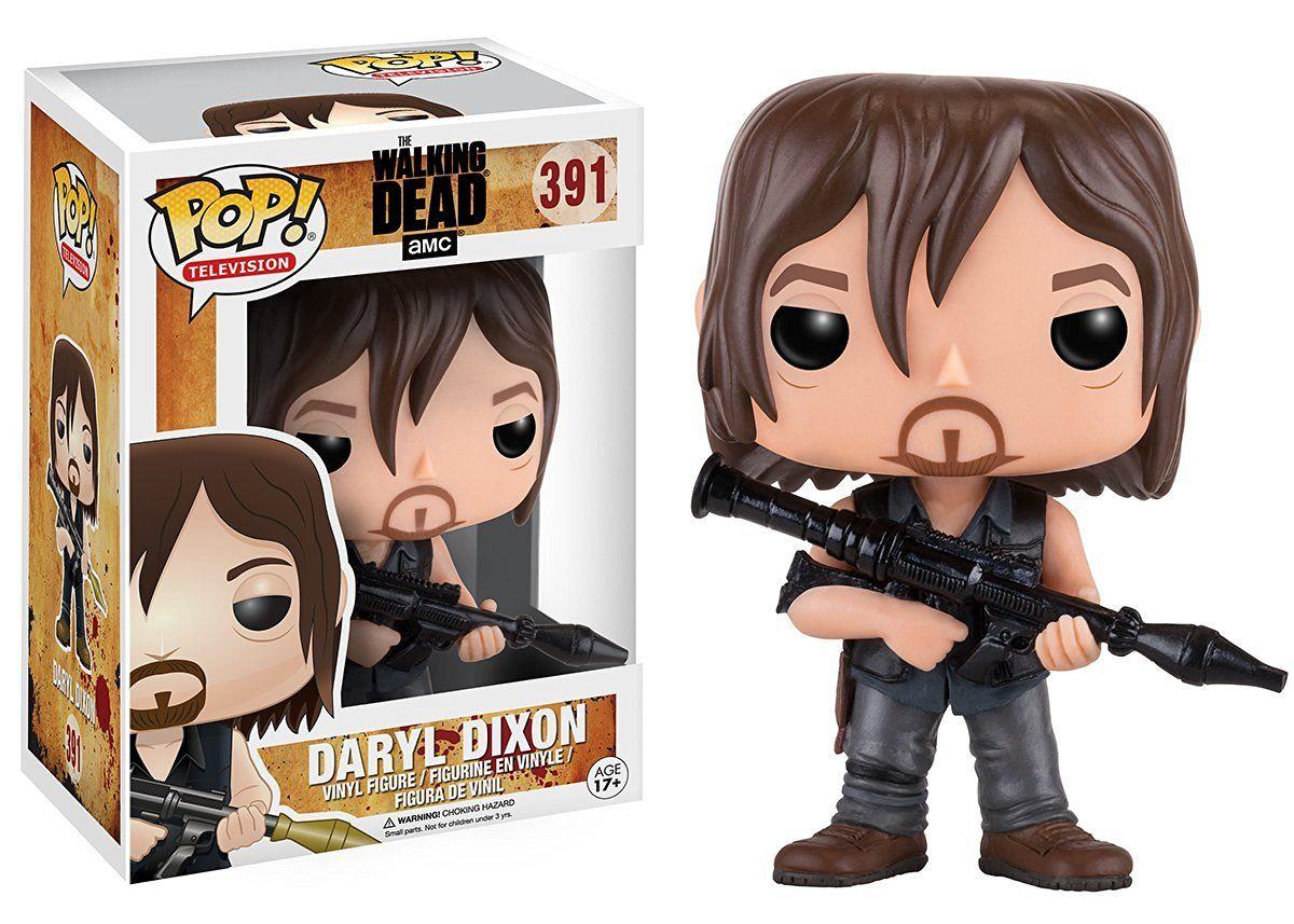 Funko Vinyl Figure n° 391 The Walking Dead Daryl Dixon with Rocket Launcher Pop