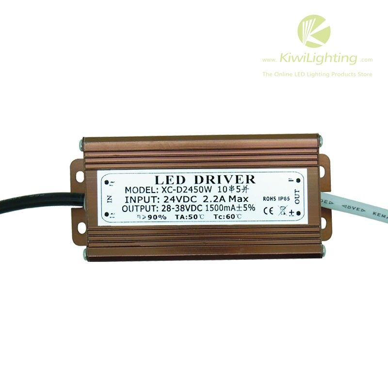 Dc 28v 38v 1500ma Led Driver For 50w Led Lights Input Dc 12v 24v Ip65 Waterproof Official Kiwi Lighting Blog Led Drivers Led Lights Led
